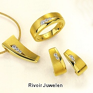 Gold Schmuck 585 Gold Brillanten